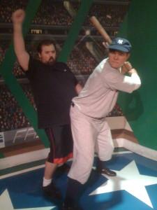 Steve loves baseball.