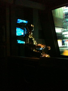 C-3PO pilots.