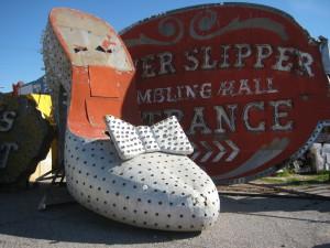The Silver Slipper.
