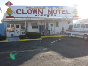 Clowning is serious business.