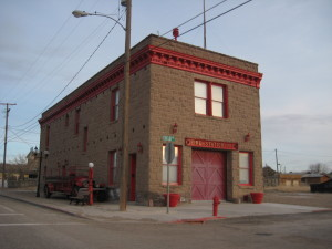 The old fire house.