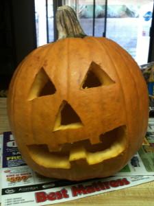 The year's pumpkin.