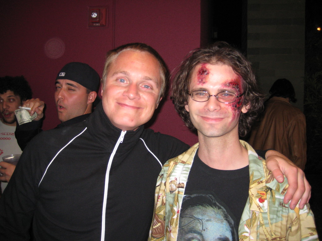 David Anders and I.