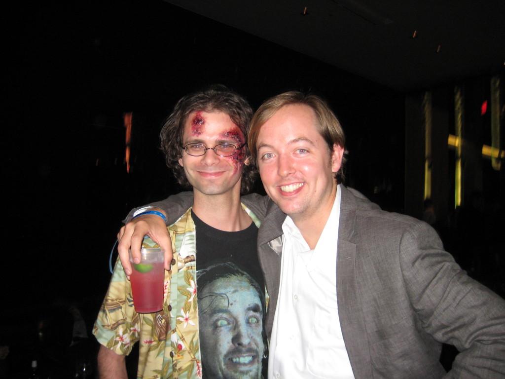 Chris Wylde and I.