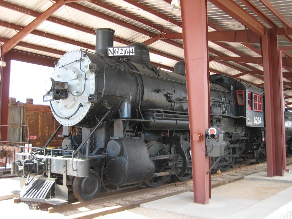 Old steam engines.