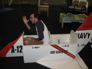 I even got my own plane!