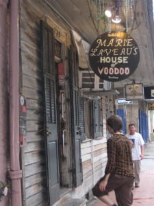 One of the most famous voodoo shops.