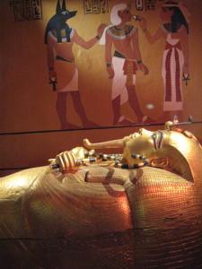 King Tutankhamun.