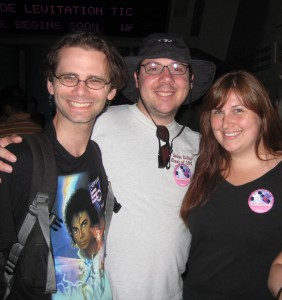 Gina and Alex at Star tours.