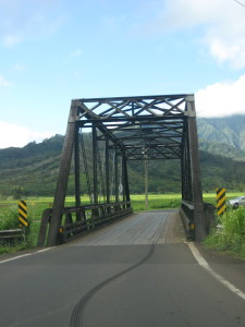 An old driving bridge.
