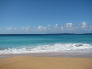 The ocean.