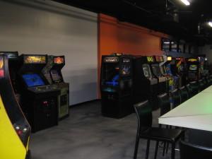 The arcade.