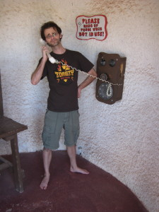 Prehistoric phones!  Without apps!