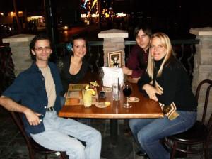 Me, Christie, Toby, Shannon.