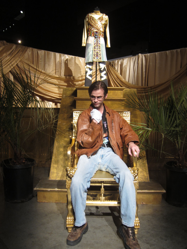 """""""Remember the Time"""" throne."""