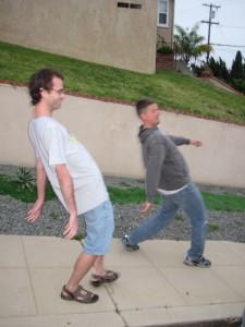 "Thus, ""Jive Walking"" was created."