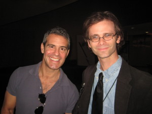 Andy Cohen and me.