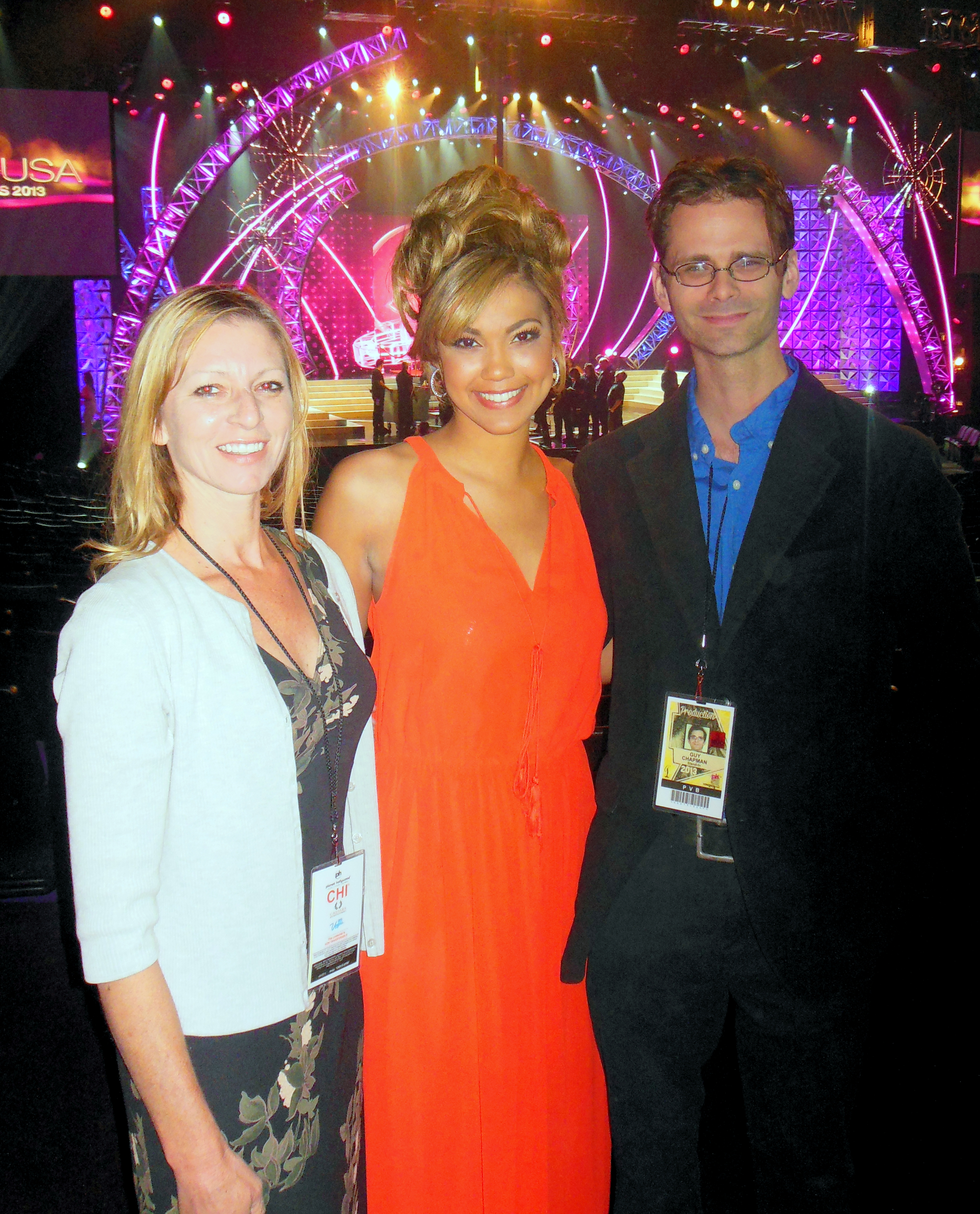 Karen, Logan, and I.
