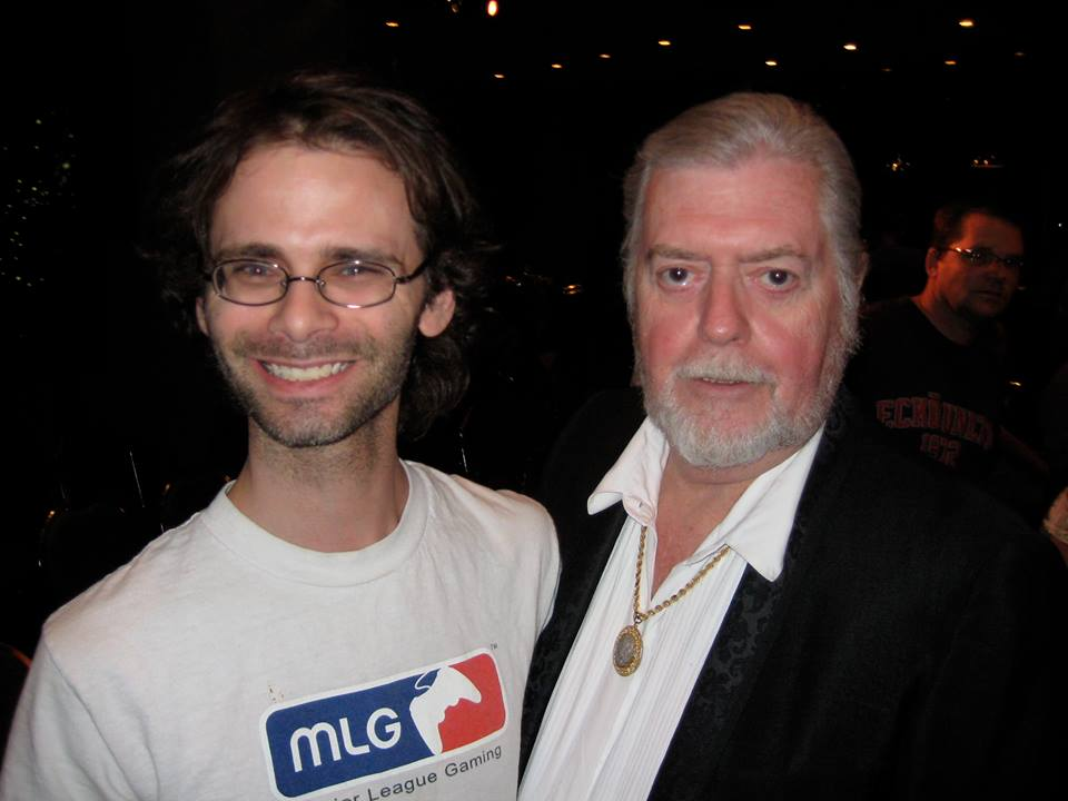 Tom and I in 2008.