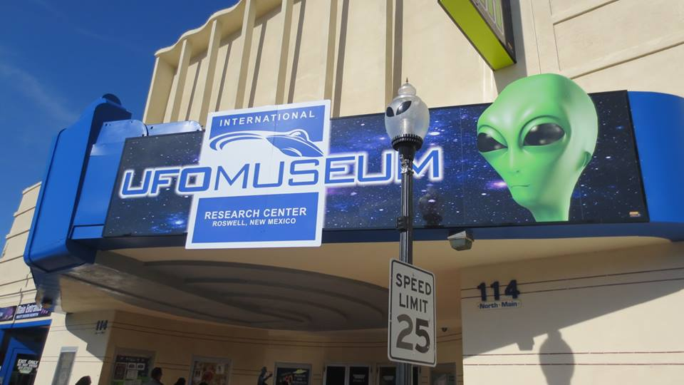 The UFO Museum of Roswell, New Mexico.