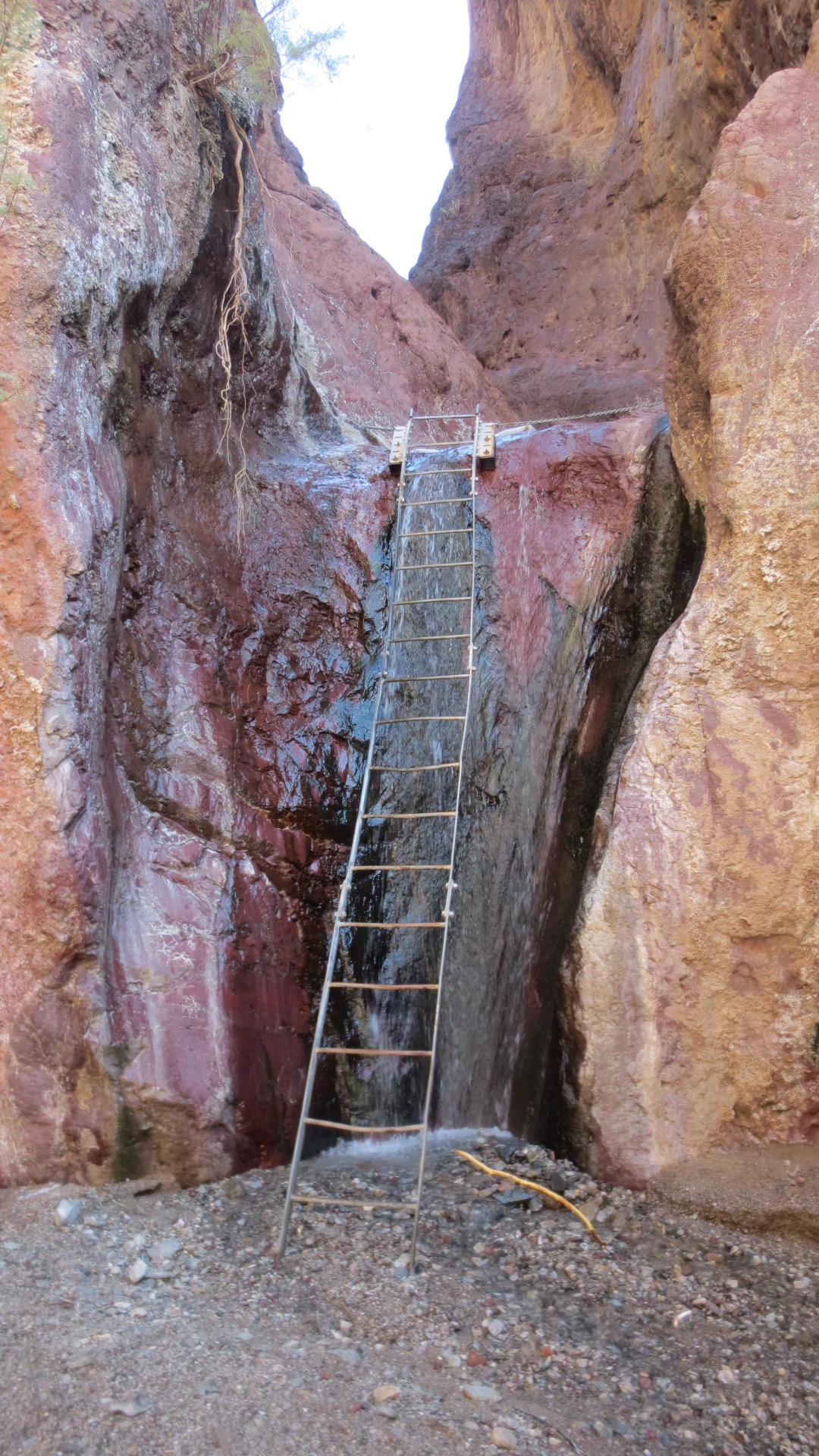 Just a climb away....